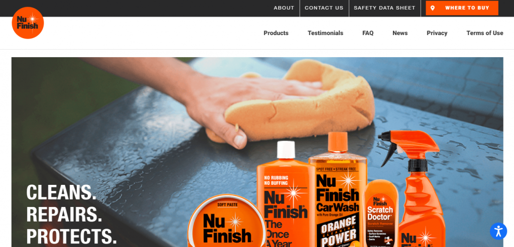 Nu finish car polish website