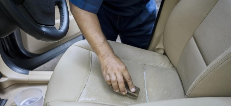 Leather seats are easier for cleaning than alcantara car seats.