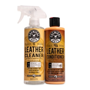 Chemical Guys SPI_109_16 Leather Cleaner and Leather Conditioner Kit for Use on Leather