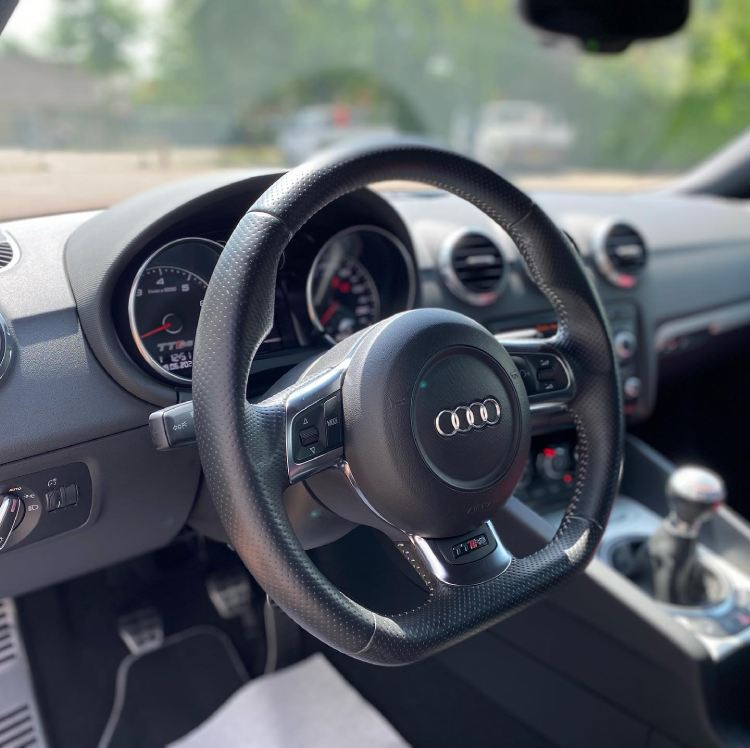 How to Clean Perforated Leather Steering Wheel