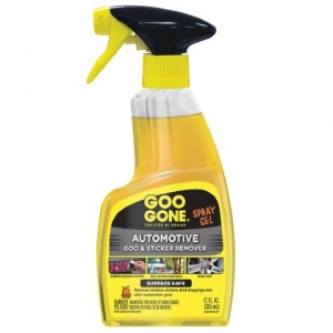 Goo Gone Automotive - Cleans Auto Interiors, Auto Bodies and Rims, Removes Bugs, Stickers, Paint and More